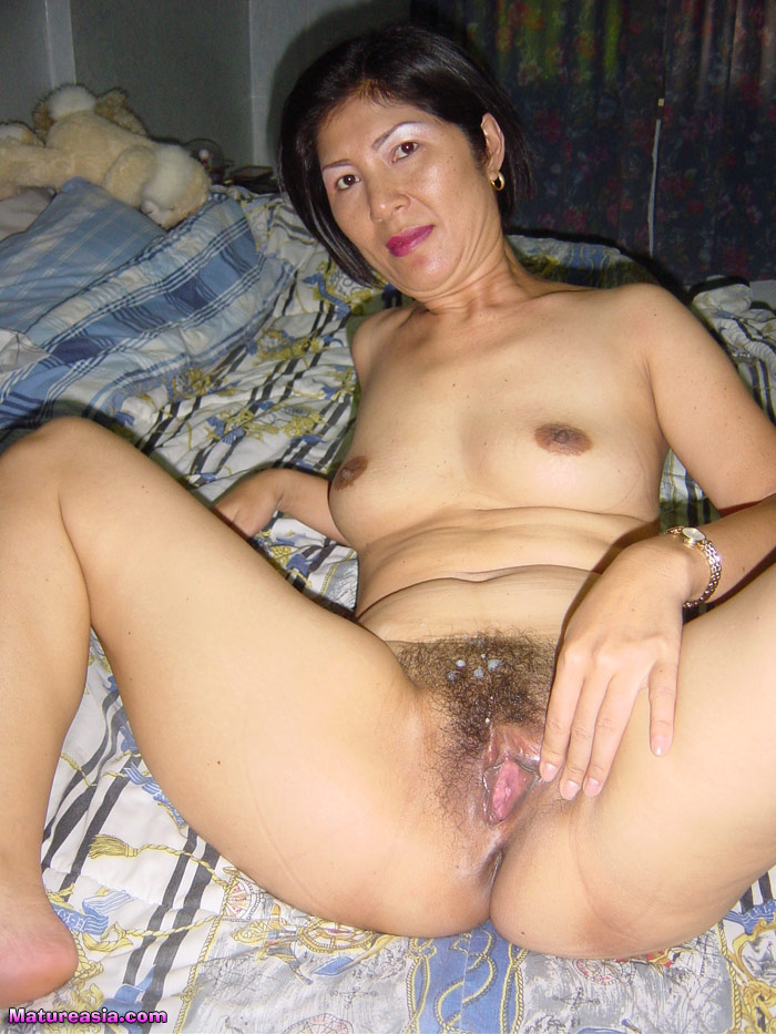 Old Asian Pussies 4